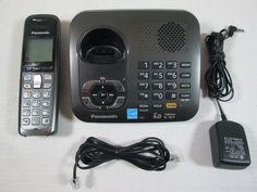 Panasonic KX-TG6441 KX-TGA641 DECT 6.0 Expandable Cordless Wireless Phone System #Panasonic