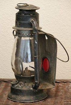 Old Railroad Lanterns Old Railroad Lantern I Antique