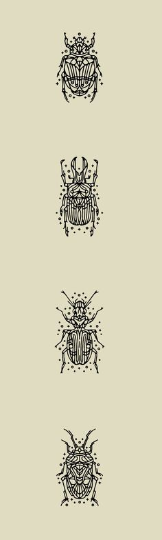 Beetle Tattoo's (small compilation) on Behance: