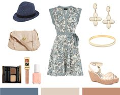 Blues Creams ~ this looks nice and pretty until boom..the fedora.  I love the change it gives to an outfit, like instacool