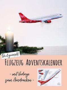 Noch auf der Suche nach einem Adventskalender für einen kleinen oder großen Flugzeug-Fan? Hier habe ich was für dich: Eine Vorlage zum Ausdrucken und Selberbauen für einen traumhaften Flugzeug Adventskalender, inspiriert von einem Airbus A320. Viel Spaß damit!