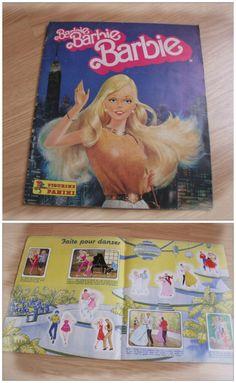 Album Barbie Panini - Années 80