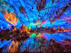 Reed Flute Cave | Xiufeng, Guilin, Guangxi, China