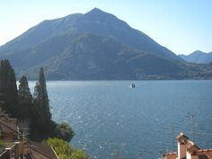 looking lake como from Varenna city