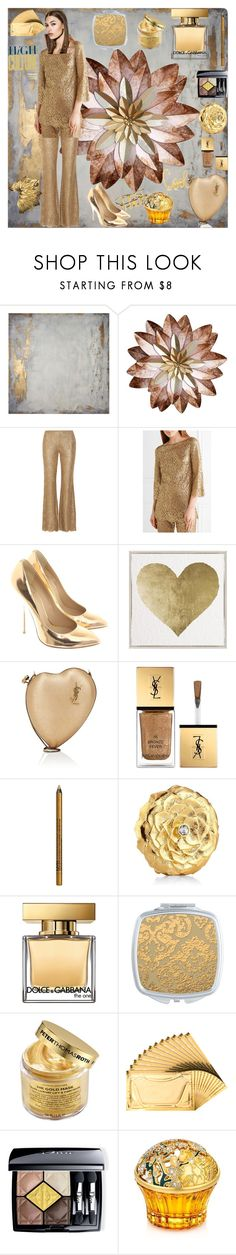 """""""Bez naslova #181"""" by theoryoffashion ❤ liked on Polyvore featuring WALL, Michael Kors, Giuseppe Zanotti, Oliver Gal Artist Co., Yves Saint Laurent, NYX, Estée Lauder, Dolce&Gabbana, Peter Thomas Roth and D24K Cosmetics"""