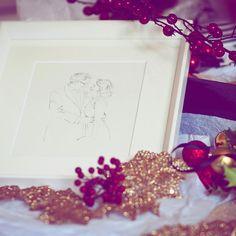 Tis the season Unique Wedding Gifts, Unique Weddings, Wedding Illustration, Tis The Season, Seasons, Seasons Of The Year, Unique Wedding Favors