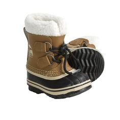Sorel Yoot Pac Boots - Waterproof, Insulated (For Toddlers) in Mesquite