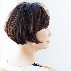 束の動きが透け感をサポート。毛量が多くても涼しげMarisol ONLINE|女っぷり上々!40代をもっとキレイに。