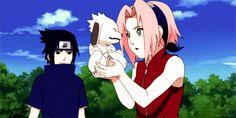 Sasuke and Sakura - Naruto Naruto Uzumaki Shippuden, Naruto Kakashi, Hinata, Naruto Shuppuden, Naruto Comic, Naruhina, Sakura Haruno, Sasuke Sakura Sarada, Avatar Manga
