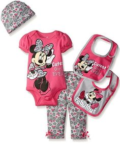 Amazon.com:+Disney+Baby+Girls'+Minnie+Mouse+5+Piece+Gift+Box+Set+Size+0-6+Months+Only+$6.45+{reg.+$24.99}