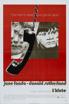Klute (1971) - soooo creepy but sooooo good #mygirlJane