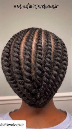 Flat Twist Styles, Hair Twist Styles, Flat Twist Hairstyles, Flat Twist Updo, Black Girl Braided Hairstyles, Cool Braid Hairstyles, Short Hair Styles, Short Dreadlocks Styles, Protective Hairstyles For Natural Hair