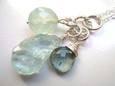 Aquamarine Necklace...love it!!