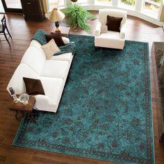 Found it at Joss & Main - Carina Rug Brown Carpet, Beige Carpet, Diy Carpet, Modern Carpet, Wall Carpet, Carpet Ideas, Aqua Area Rug, Light Blue Area Rug, Blue Carpet Bedroom