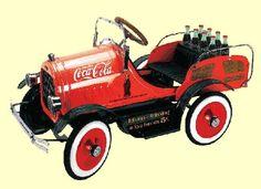 Coca Cola Model T Roadster Pedal Car
