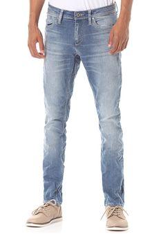 b56146ee7d3d58 Jack & Jones Vintage Clothing Ben ORG SC 311 - Jeans für Herren - Blau