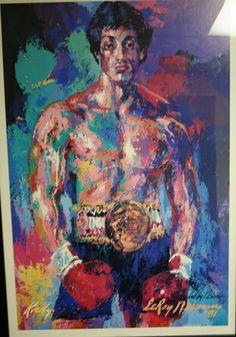 Rocky by LeRoy Neiman