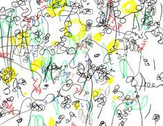 """hilo negro -dibujo e ilustración-  """"Sacar a pasear la línea"""", decía Klee."""