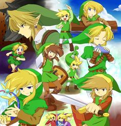 The Legend of Zelda | Link through the ages