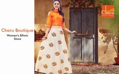 Addicted to Skirt? Go Happy Girls! Your favorite #skirt in Dazzling Styles is just a click away https://goo.gl/gYJ9u0 #longskirts #designerskirts #skirttop #onlineshopping @ #CharuBoutique store #Nagpur Happy Shopping!