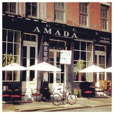 Amada ~ Philadelphia...one of the best meals we've EVER had...went twice for dinner..get the tasting menu