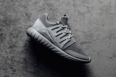 best service a33fb b31f7 The adidas Originals Tubular Radial Receives a Charcoal Colorway