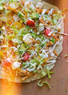 Arepa pizza