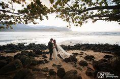 January & Michael   rachelrobertson.com   The St. Regis Princeville Resort   Kauai, HI