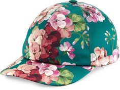 Pin for Later: This Is What Your Summer Outfits Are Missing  Gucci Floral Satin Baseball Cap ($455)