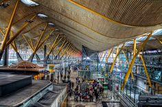 Terminal T4 Barajas, Madrid HDR | Flickr: Intercambio de fotos