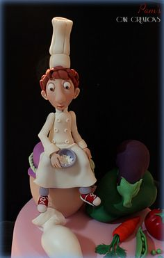RATATOUILLE CAKE - by PamsCakeCreations @ CakesDecor.com - cake decorating website