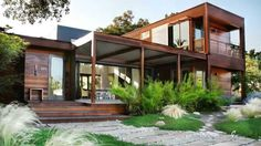 shipping container homes exterior - Google Search