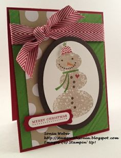 Stampin' Up! Snow Day, Season of Style Designer Series Paper, Stampin' Up! Christmas Card