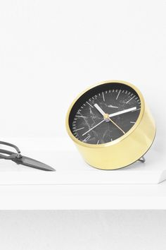 Structure Black Marble Jr. Alarm Clock by Cloudnola | From Cloudnola.me