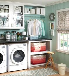 Doing the laundry once a week is generally sufficient, but plan for additional loads if you wash uniforms, work clothes, or gym clothes. See more cleaning shortcuts here: http://www.bhg.com/homekeeping/house-cleaning/tips/cleaning-shortcuts/?socsrc=bhgpin042615twopersonhouseholdlaundry&page=13