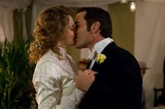 Holy Matrimony, Murdoch (Episode 804) Dr. Ogden (Helene Joy) and Murdoch (Yannik Bisson)  share a kiss