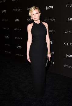 Kirsten Dunst in Gucci Fall 2014 gown: 2014 LACMA Art + Film Gala Honoring Barbara Kruger And Quentin Tarantino Presented By Gucci