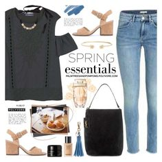 """""""Saturdays"""" by palmtreesandpompoms ❤ liked on Polyvore featuring MANGO, Yves Saint Laurent, Geox, Kahina Giving Beauty, Cartier, Gucci and Erickson Beamon"""