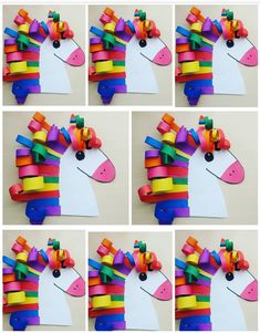 Easy Crafts For Kids, Toddler Crafts, Art For Kids, Diy And Crafts, Arts And Crafts, Paper Crafts, Art Drawings For Kids, School Decorations, Crafty Kids