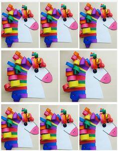 Easy Crafts For Kids, Craft Activities For Kids, Fun Crafts, Art For Kids, Diy And Crafts, Arts And Crafts, Paper Crafts, Kindergarten Art, Preschool Crafts