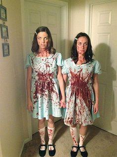 Las gemelas de la película 'El resplandor'