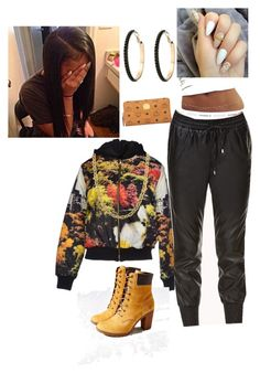 """""""MY 1st SWEET 16 outfit"""" by shortie-wonderz ❤ liked on Polyvore featuring Fifteen And Half, Forever 21, Fremada, Timberland, MCM and GUESS"""