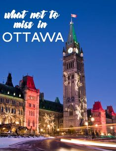 Thinking of taking a trip to Ottawa? Check out this curated list of places to eat, see and things to do during your visit!