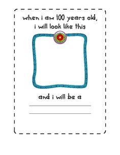 A few fun pages to add to your 100 Day celebration!  Can be filled in by kids or by adult, depending upon the age group....