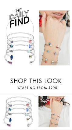 """""""The Daily Find: Dannijo Bracelet"""" by polyvore-editorial ❤ liked on Polyvore featuring DANNIJO and DailyFind"""