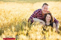 I've been finding myself in a lot of wheat fields lately. #engagement #portrait #idaho #wheatfields #outdoors #wheat