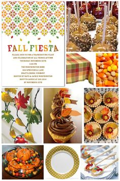 Fall party ideas...as if between homeschool and the rest of life I have time to have a fall party!  But a girl can dream!
