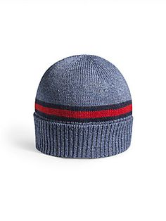 Gucci Toddler's & Little Boy's Signature Web Wool Hat