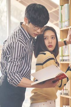Great Seducer Tempted Kdrama why do dramas always have scenes in libraries? Korean Drama Romance, Watch Korean Drama, Korean Drama Movies, Korean Dramas, Goblin Wallpaper Kdrama, Kdrama Wallpaper, Drama Korea, Korean Celebrities, Korean Actors