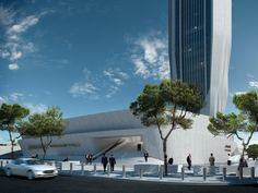 Central Bank of Iraq - Architecture - Zaha Hadid Architects